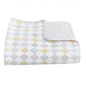 Olli Ella Harlequin Baby Blanket
