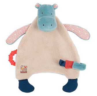 Moulin Roty Children's Hippo Comforter