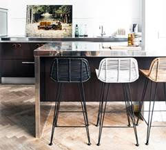 rattan breatfast bar stool