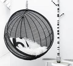 rattan indoor hanging chair