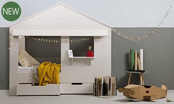 Kids House Cabin Bed