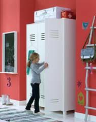 Kids Locker Style 2 Door Cabinet