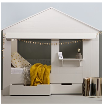 Cuckooland Kids Cabin Bed In House Design