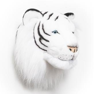 Kids Tiger Plush Head Wall Decor
