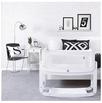 White Snuzpod 3-in-1 crib