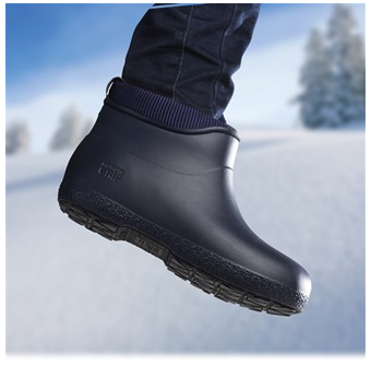 Navy Anti Slip Wellies