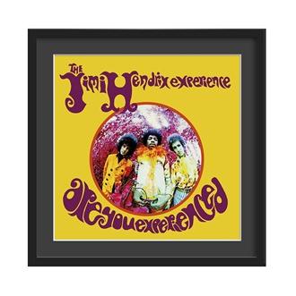 Retro Jimi Hendrix Wall Art