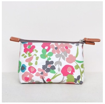 Designer cosmetic bag by Caroline Gardner