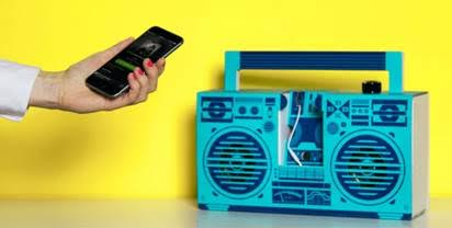 Retro-style. Powerful sound. Assemble-It-Yourself. BOOM.