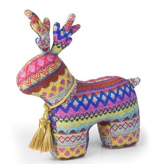 Dora Designs Reindeer Doorstop