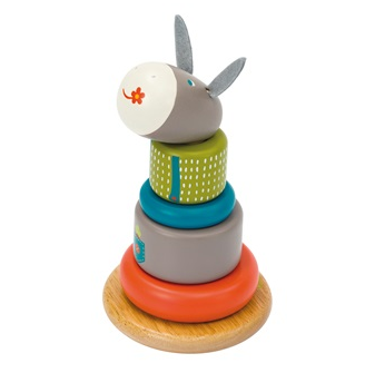 Moulin Roty Childrens Stack-Up Donkey