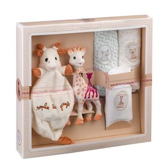 Sophie La Giraffe Muslins Gift Set