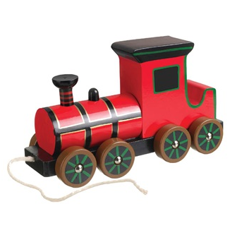 Victorian Steam Train Pull-Along Toy