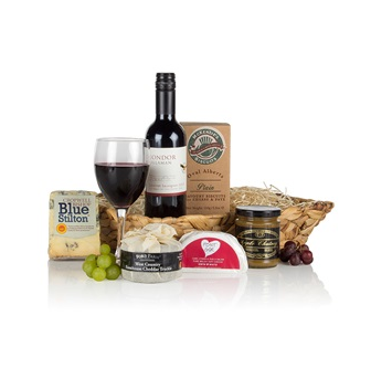 Wine and Cheese Luxury Christmas Hamper