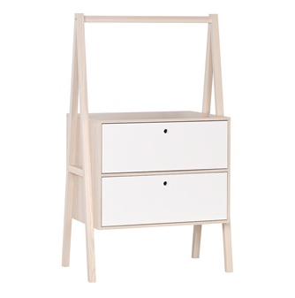Vox drawers in white