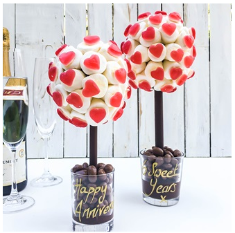Haribo and Marshmallow sweet tree by browns