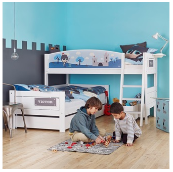 Lifetime Knight Corner Bunk Bed