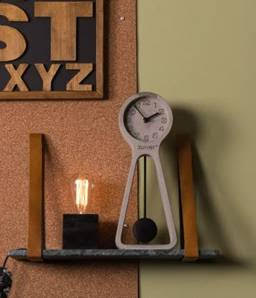 pendulum time concrete clock