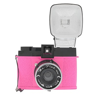 Lomography Diana F+ Mr. Pink Camera