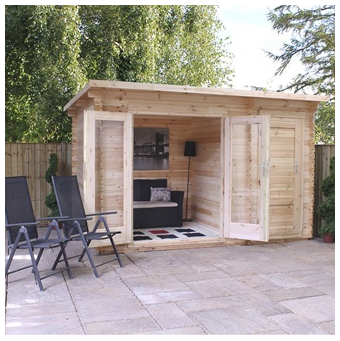 Mercia Cabin in Delamere design