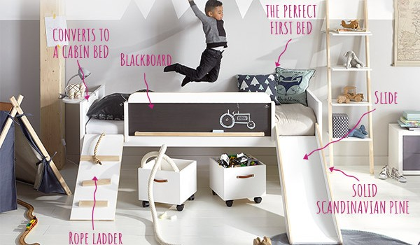 Introducing the New Lifetime Play Learn & Sleep Bed!