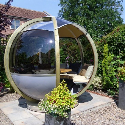 Top Ideas to Improve your Outdoor Space – from Log Cabins to Fabulously Fun Garden Furniture
