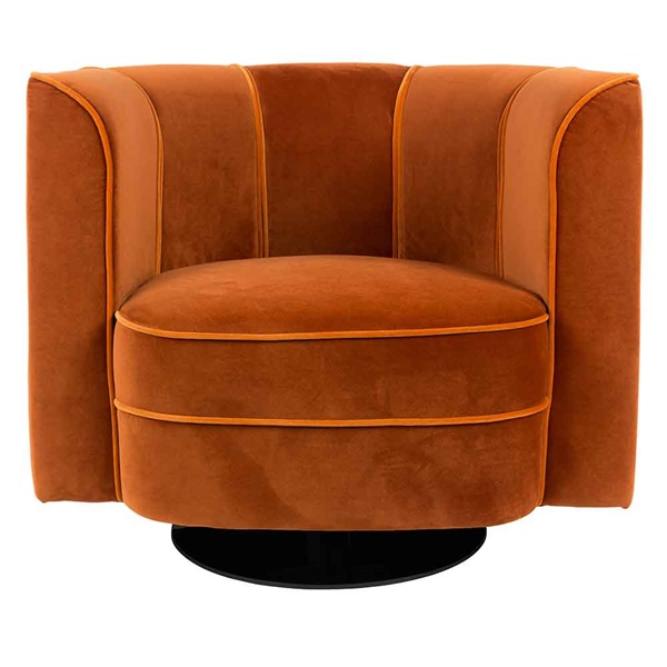 Flower-Tub-Chair-in-Orange